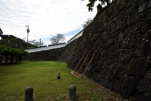 大洲城石垣