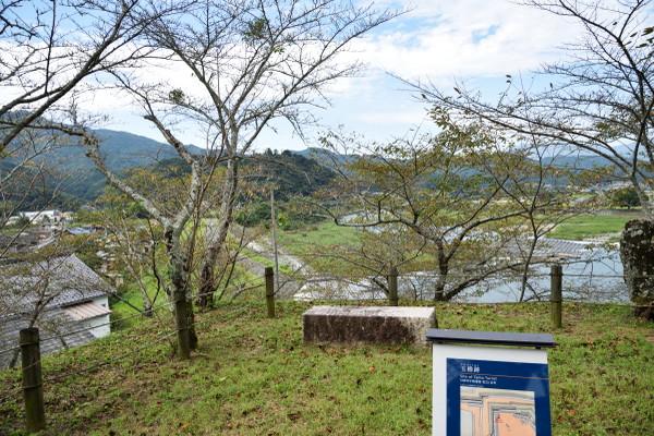 大洲城玉櫓跡
