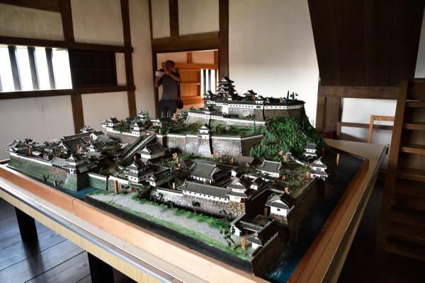 大洲城模型02