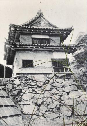 大洲城苧綿櫓古写真
